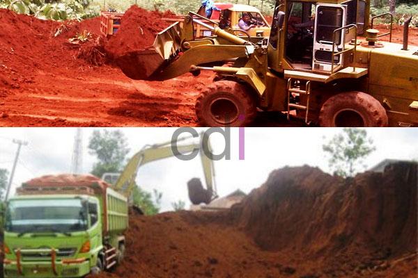 Tipe Urugan Tanah Merah BEBAS ONGKIR ke Kiara Pedes Purwakarta