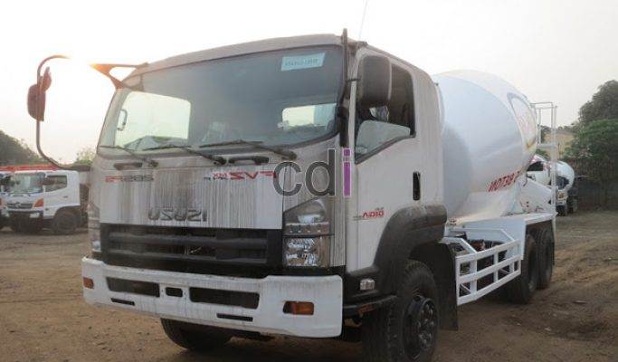Jual Truck Mixer Beton Isuzu