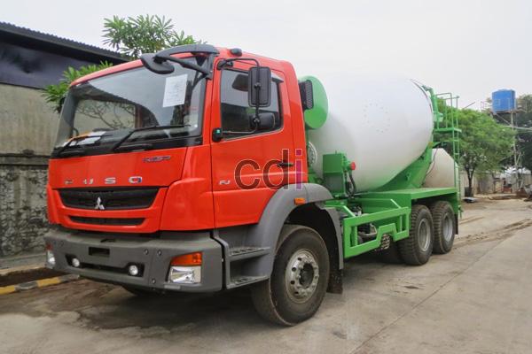 Harga Jual Truck Mixer Beton MITSUBISHI
