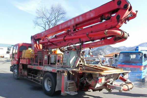 Concrete Pump Long Boom