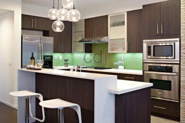 Jasa pembuatan kitchen set finishing HPL
